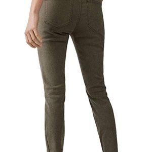 Massimo Dutti Pants & Jumpsuits - Mid-rise skinny fit twill trousers